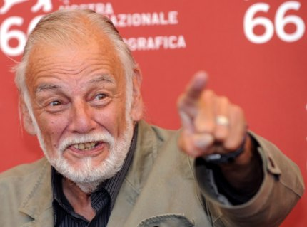 Mandatory Credit: Photo by Claudio Onorati/Epa/REX/Shutterstock (8153768lw) Us Director George a Romero Poses During the Photocall For His Film 'Survival of the Dead' Presented in Competition at the Venice Film Festival in Venice Italy 09 September 2009 Italy Venice Italy Venice Film Festival - Sep 2009
