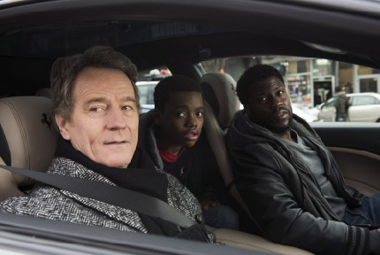 Bryan Cranston, Jahi Di'Allo Winston, and Kevin Hart star in THE UPSIDE David Lee/Photographer