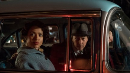 "(L-R) GUGU MBATHA-RAW as Laura Rose and EDWARD NORTON as Lionel Essrog in Warner Bros. Pictures' drama ""MOTHERLESS BROOKLYN,"" a Warner Bros. Pictures release."